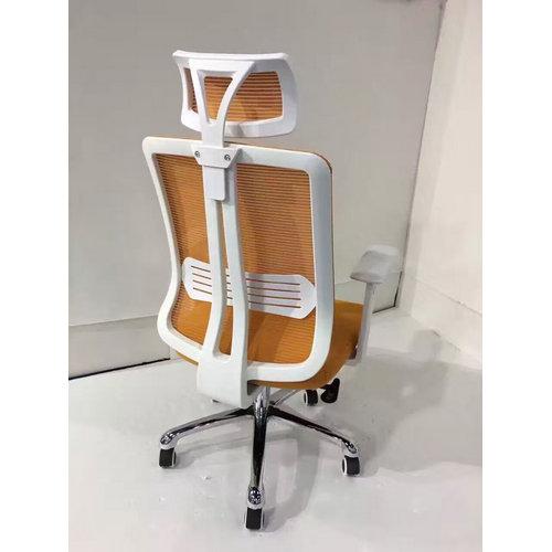 Cheap Modern Office Chairs: Modern Ergonomic White Plastic Mesh Office Swivel Chairs