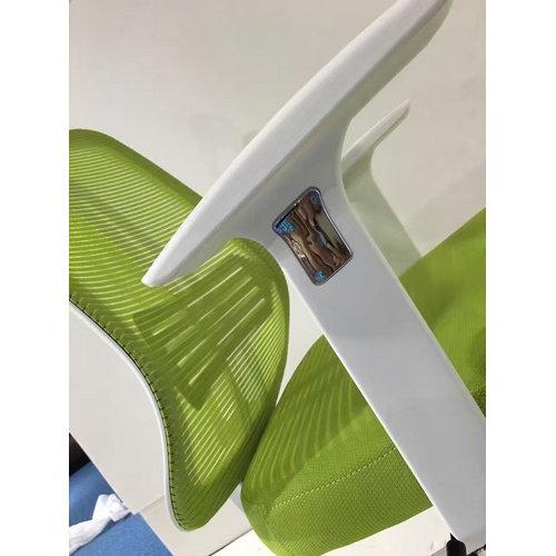 Modern Ergonomic White Plastic All Mesh Office Swivel
