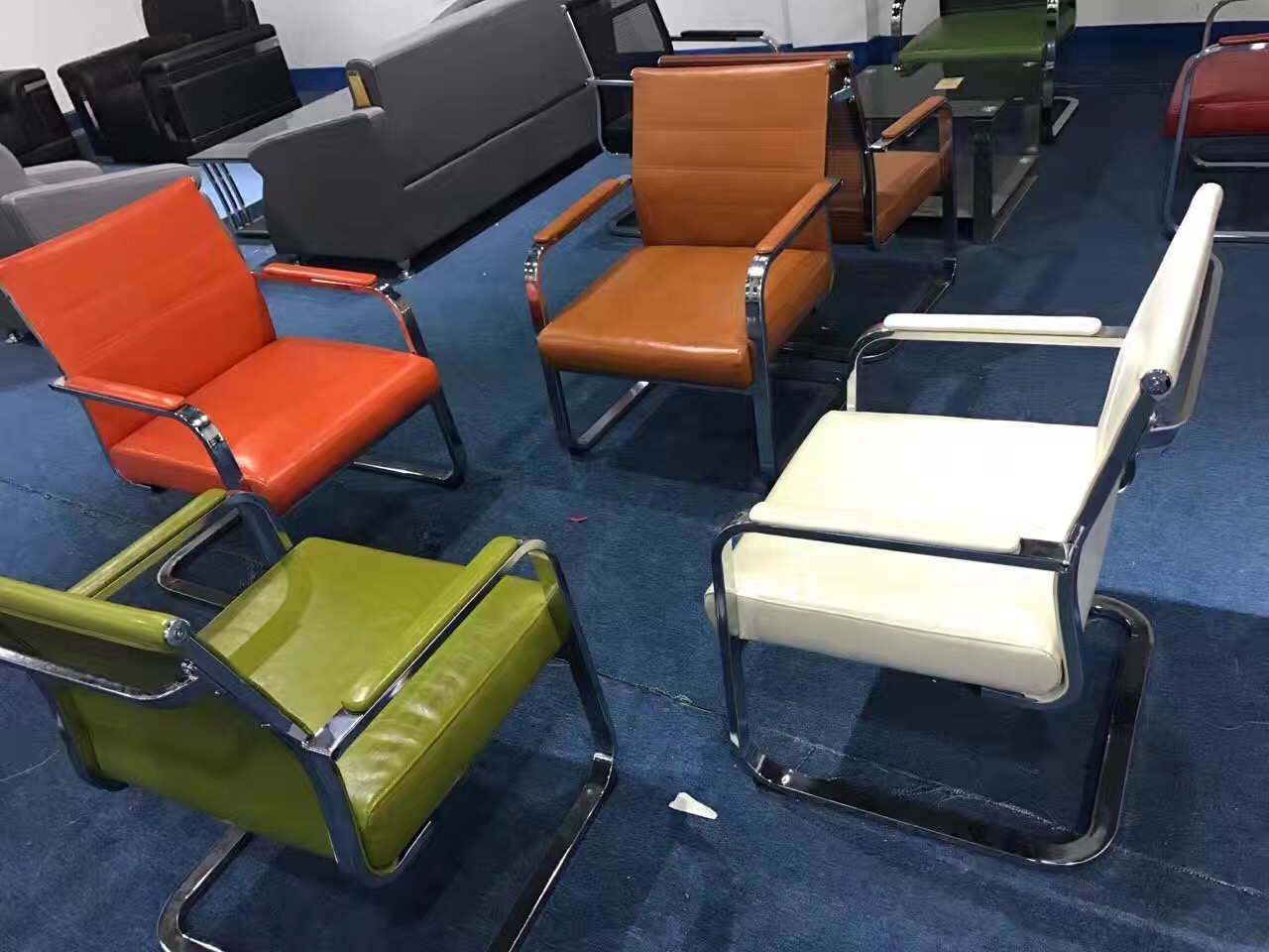 High Quality Ergonomic All Mesh Back Visitor Chairs