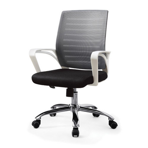 Factory Price White Ergonomic Staff Office Chair Most Popular Home Mesh Home Computer Chair Cheap Office Chairs And Lounge Chairs