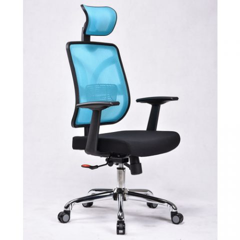 Breathable Office Chair F Patriarca White Frame