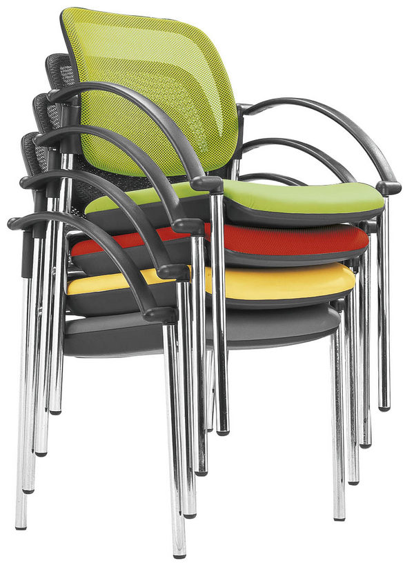 Popular Mesh Back Conference Meeting Chair Stackable