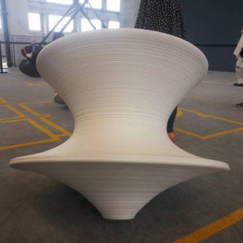 Spun By Thomas Heatherwick Magis Spun Rotating Lounge Chair Outdoor Leisure  Chairs