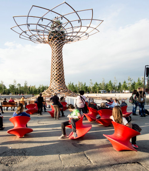 Spun By Thomas Heatherwick Magis Spun Rotating Lounge