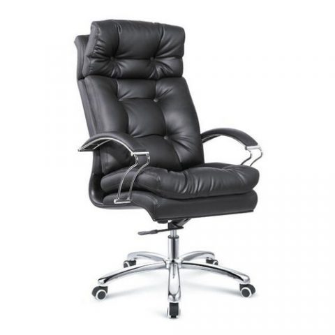 Tall And Tilt Control Black Leather