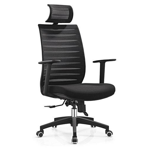 Cheap Modern Office Chairs: Modern Style Adjust Height Ergonomic High Back Black