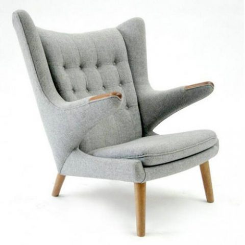 Hans Wegner Replica Chair Teddy Papa Bear Chair Made In China Lounge  Armchair