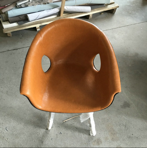 Customized Factory Ginger Chair With Fiberglass Frame