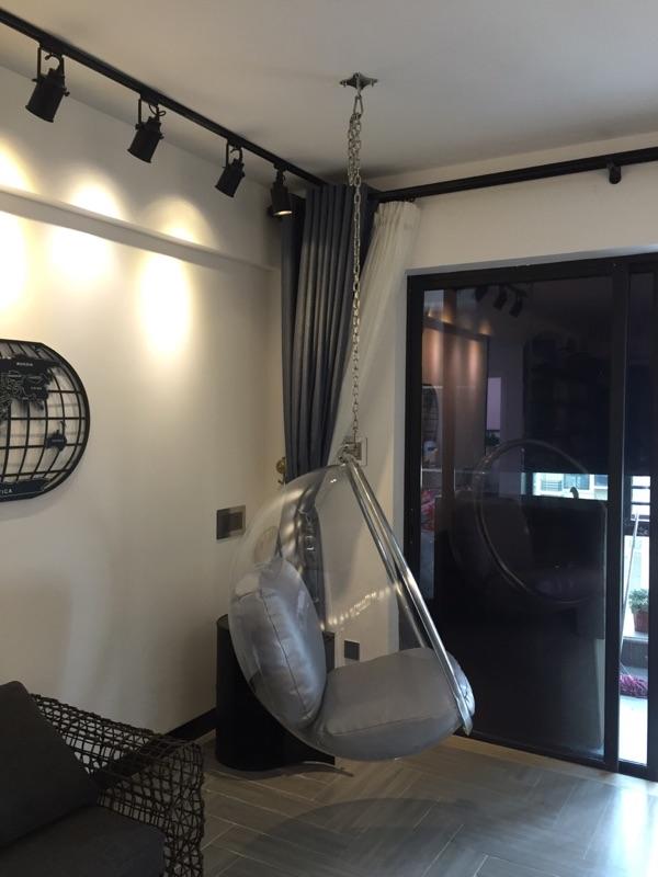 Eero Aarnio Acrylic Hanging Bubble Chairs Swing Hanging Leisure Bedroom Ball Chair