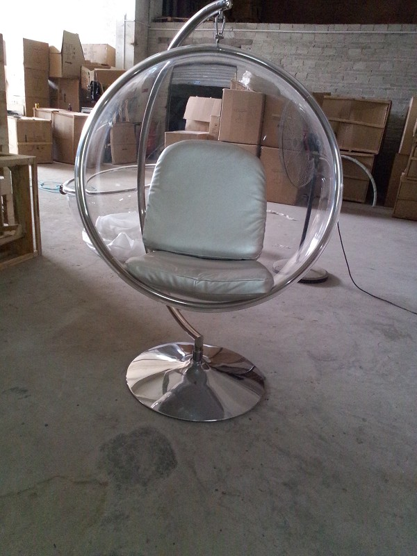 Eero Aarnio Acrylic Hanging Bubble Chairs Swing Hanging Leisure Bedroom Ball Chair