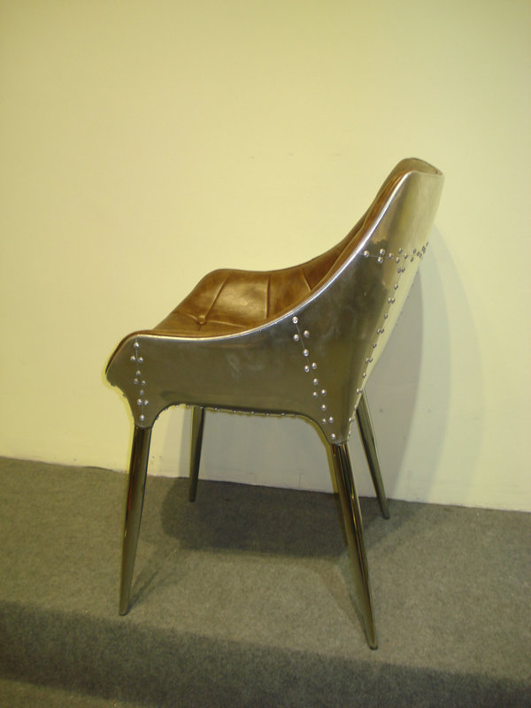 Hot Sales Giorgetti Diana Fiberglass Chair Leather Dining