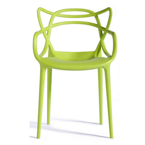 modern leisure garden replica stackable dining chair outdoor pp