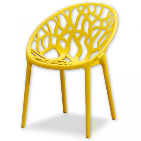 modern pp leisure design stacking chair dining molded chairs french