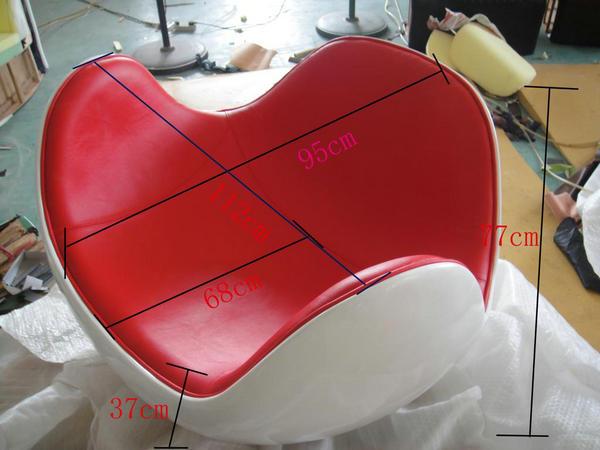 China Fiberglass Shell Placentero Leisure Ball Chair