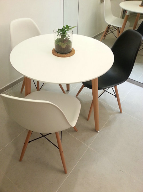 Modern Eames Style Dsw Leisure Chair Plastic Dining Chair