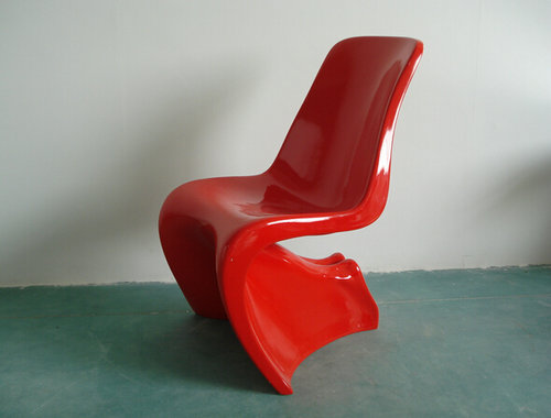 Italian Designer Lounge Panton Dining Chairs Fiberglass
