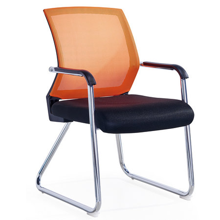 Cheapest Office Visitor Meeting Chair With Colorful Mesh
