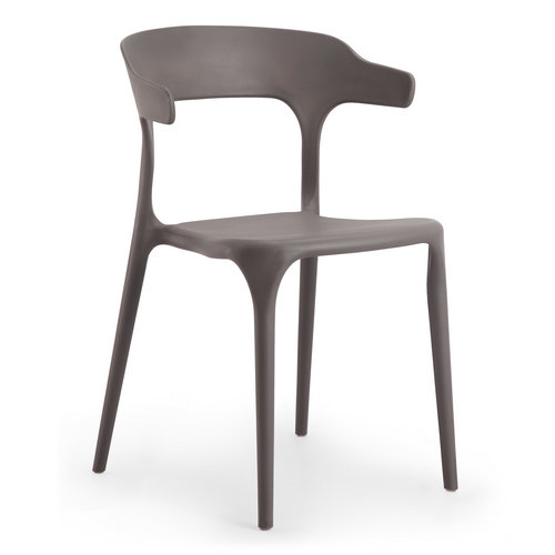 New Design Stackable Plastic Reception Dining Chair Bar
