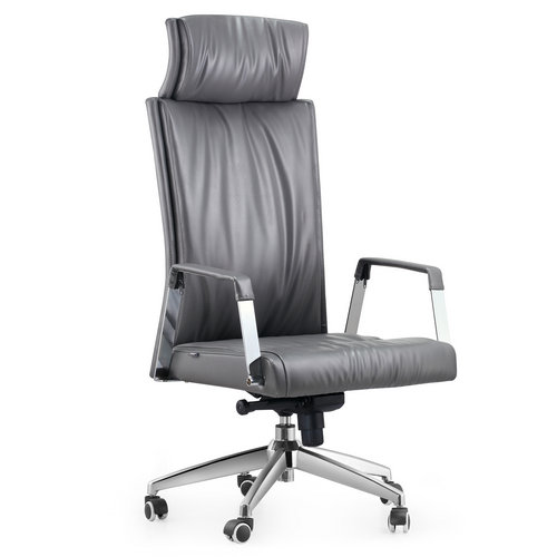 spartan leather executive office chair high back operator chair in