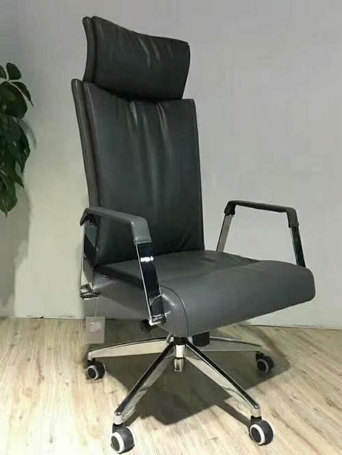 Spartan Leather Executive Office Chair High Back Operator