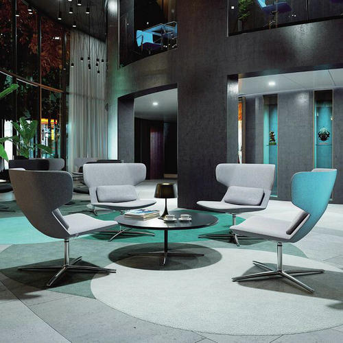 Wholesale Modern Fabric Lounge Chair Reception Room Swivel Chair Cheap Office Chairs And Lounge Chairs