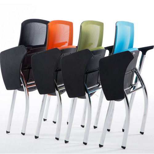 Hot Sale Pp Armrest Mesh Conference Training Student Chair