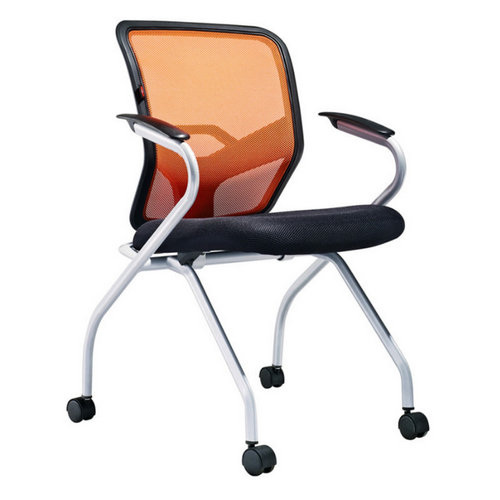 Stacking Plastic Office Conference Training Chair With