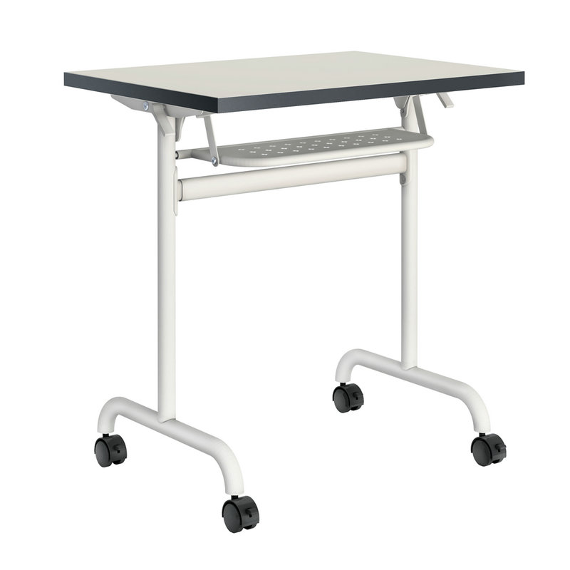 Portable Folding School Desks Office Training Table With