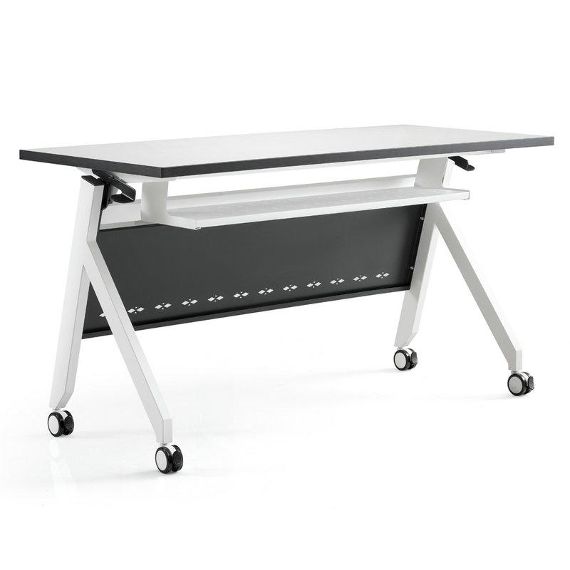 Metal Office Folding Conference Table Training Desks Steel