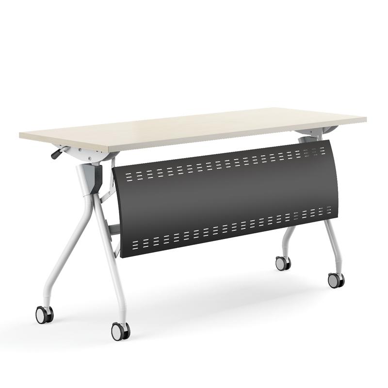 Metal Office Furniture Foldable Training Conference Desk Student